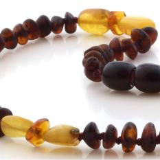 BE127 Kalung Baltic Amber Baby
