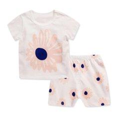Toko Bear Fashion Baby Boys Girls Pakaian Anak Anak Bunga Musim Panas Pakaian 2 Pcs Set Intl Bear Fashion Online