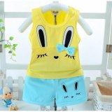 Jual Beli Bear Fashion Bayi Pakaian Anak Anak Musim Panas Manis Rabbit Girls Pakaian 2 Pcs Set Suit Intl Tiongkok