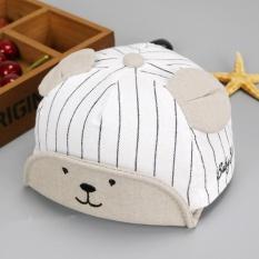 Bear Fashion Bayi Musim Panas Cat Anak Laki-laki Perempuan Bisbol Topi Topi-Intl Amart