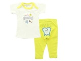 Bearhug 2 Piece Set Bearhug For G*rl And Boy Yellow Tooth Dki Jakarta Diskon