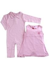 Jual Bearhug 2 Pieces Set Bayi Perempuan Nb 12M Polos Pink Online Di Dki Jakarta