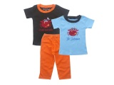 Jual Bearhug 3 Piece Set For Baby Boy Crab Import