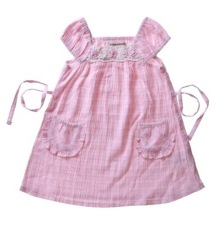 Harga Bearhug Dress Bayi Perempuan 110 120 2 Saku Depan Pink Salem Branded
