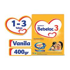 Jual Bebelac 3 Bebenutri Plus Susu Pertumbuhan Vanila 400 Gr Satu Set