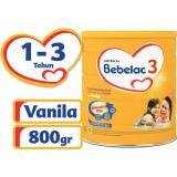 Spesifikasi Bebelac 3 Bebenutri Plus Susu Pertumbuhan Vanila 800 Gr Bebelac