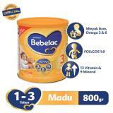 Spesifikasi Bebelac 3 Hiq Eq Susu Pertumbuhan Madu 800 Gr Bebelac