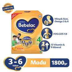 Toko Bebelac 4 Hiq Eq Susu Pertumbuhan Madu 1800 Gr Bebelac Jawa Barat