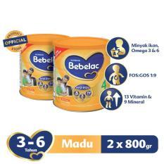 Spesifikasi Bebelac 4 Hiq Eq Susu Pertumbuhan Madu 800 Gr Bundle Isi 2 Kaleng Lengkap