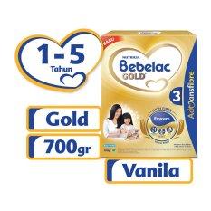 Spesifikasi Bebelac Gold 3 Advansfibre Vanilla 700Gr Yang Bagus Dan Murah