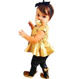 Harga Termurah Beingq Bayi Baru Baju Anak Gaun Anak Perempuan Untuk Pesta Pakaian Sederhana Set Pakaian 2 Buah