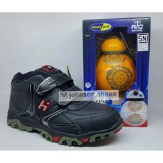 BERHADIAH ! Sepatu Sekolah HOMYPED KENZO 01 BLACK Size 31-34