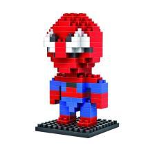 Mainan Lego Mini Blocks Series Spiderman - Mainan Kecerdasan