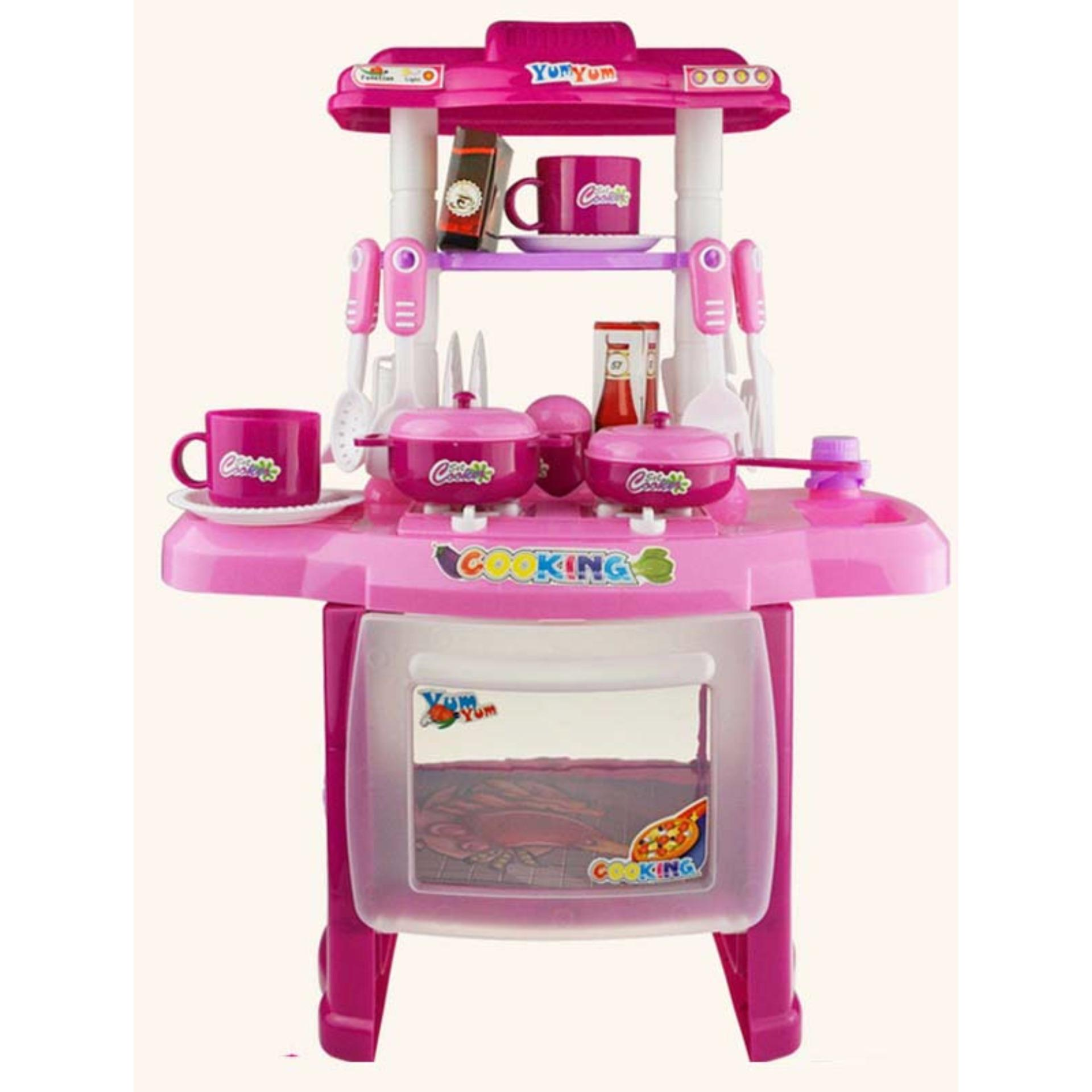 Harga Terjangkau Lynn Design Kitchen Set Mainan Masak Masakan Anak Perempuan Barbie Jual Perlengkapan Anak Murah Kualitas Terbaik