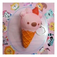 ... Gantungan Kunci Buah Persik ( Squishy Simulation Peach Slow Rising Squishy Fun Toys. Source · Honey Bear Chocolate Ice Cream Shake DecorationIDR148353.