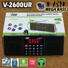 (Best Seller) VDR Portable MP3 Player With FM Radio V-2600UR