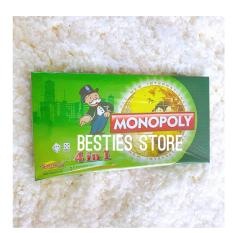 Besties Mainan Anak Papan Monopoli 4in1 By Besties Store.