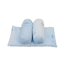 Bestprice-Infant Pillow Shaping Pillow Cotton Baby ABR1101essory Bedding Breathable Pink/Blue - intl