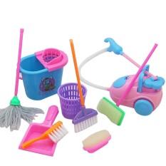 9 Buah/set Sapu Mainan Luci Dengan Harga Terbaik, Alat Kebersihan Mainan Untuk Bermain Peran Dan Belajar Anak Prasekolah By Bestprice2015.
