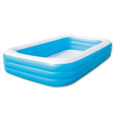 Toko Jual Bestway 3 Rings Family Pool Kolam Kotak Jumbo Polos 305X183X56Cm