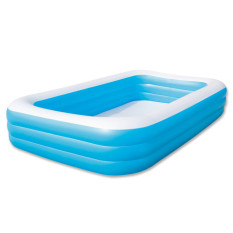 Jual Bestway 3 Rings Family Pool Kolam Kotak Jumbo Polos 305X183X56Cm