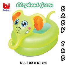 Review Toko Bestway Baby Bathtub Kolam Renang Baby Elephant Green Uk 102Cmx61Cm