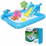 Review Tentang Bestway Fantastic Aquarium Play Pool Kolam Renang Perosotan Mainan Anak 53052