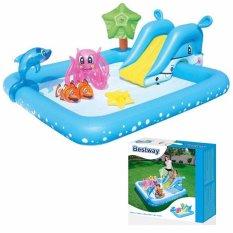 Bestway Fantastic Aquarium Play Pool Kolam Renang Perosotan Mainan Anak 53052