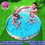 Beli Barang Bestway Intex Children Instant Pool Blue Whale Pelampung Kolam Renang Anak Tanpa Pompa Paus Biru Diameter 122Cm Online