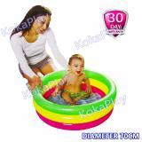 Obral Bestway Intex Rainbow Swimming Pool Pelampung Kolam Renang Anak Pelangi Small Diameter 70 Cm Murah