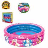 Jual Bestway Kolam Renang Anak Barbie 3 Ring Pool 120X30Cm