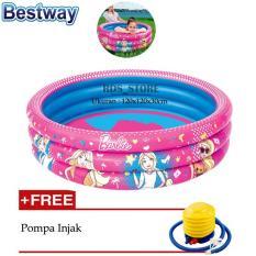 Harga Bestway Kolam Renang Anak Barbie 3 Ring Pool Pm 120X30Cm Terbaru