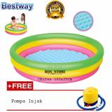 Review Bestway Kolam Renang Anak Summer Set Pool Fp 102 X 25 Cm Terbaru