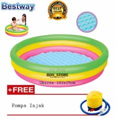 Spesifikasi Bestway Kolam Renang Anak Summer Set Pool Fp 102 X 25 Cm Bestway Terbaru