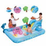 Review Bestway Kolam Renang Bermain Anak Fantastic Aquarium Play Pool Bestway 53052 Terbaru