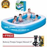 Harga Bestway Kolam Renang Karet Anak Dan Keluarga Family Pool 201X150X51Cm Bestway Asli