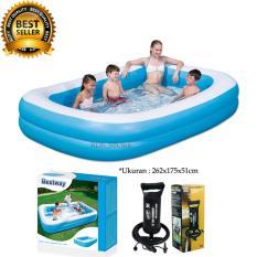 Promo Bestway Kolam Renang Karet Anak Dan Keluarga Family Pool 262X175X51Cm Murah