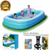 Situs Review Bestway Kolam Renang Karet Anak Dan Keluarga Family Pool 305 X 183 X 56 Cm