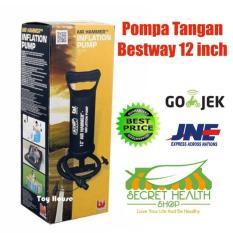 Bestway Pompa Tangan Manual Kasur Angin 12 Inch/ 30 Cm - 57E9E9 - Original Asli