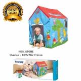 Harga Bestway Tenda Rumah Bermain Anak Play House Biru Murah