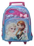 Beli Bgc Disney Frozen Elsa Anna Blue Pink Troley Sch**l Bag 3D Import Bgc