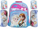 Jual Bgc Disney Frozen Free Set Tas Ransel Kotak Pensil Alat Tulis Komplit Anna Elsa Blue Pink Import Original