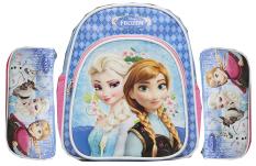 Bgc Disney Set Tas Ransel Dan Kotak Pensil Frozen Elsa Anna Blue Sponge Anak Sekolah Asli