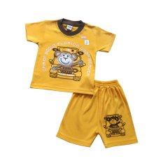 BHKC Setelan Anak Tom The Monkey - Kuning