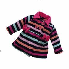 Spesifikasi Bibbo Baby Blazer Garis Pink Jaket Bayi Perempuan Bibbo