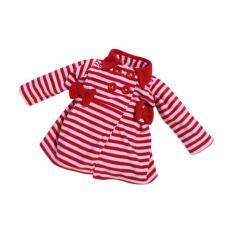 Bibbo Baby Blazer Stripe Red Jaket Bayi Perempuan