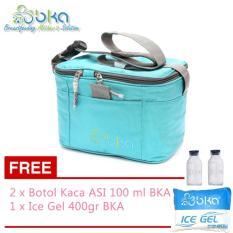 Spesifikasi Bka Cooler Bag Biru Gratis 2 Botol Bka Dan Ice Gel 400 Gr Dan Harga