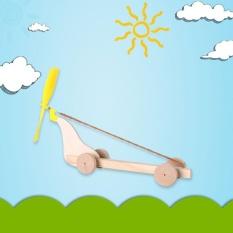 BKD Toko Kebaruan Lucu Toys Mobil Spiral Mainan Kayu Anak-anak DIY Rakitan Mainan Bayi Belajar-Internasional