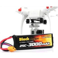 Beli Black Magic Battery Lipo For Dji Phantom Cx 20 11 1V 3000Mah 25C Black