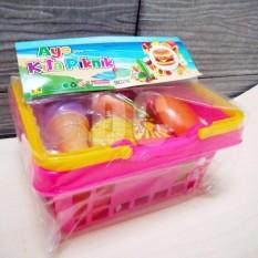Blink Mainan Anak Keranjang Buah & Sayur / Mainan Keranjang Belanjaan